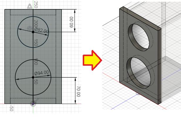 【自作スピーカー】Fusion360を使用したエンクロージャー構造設計法 中編