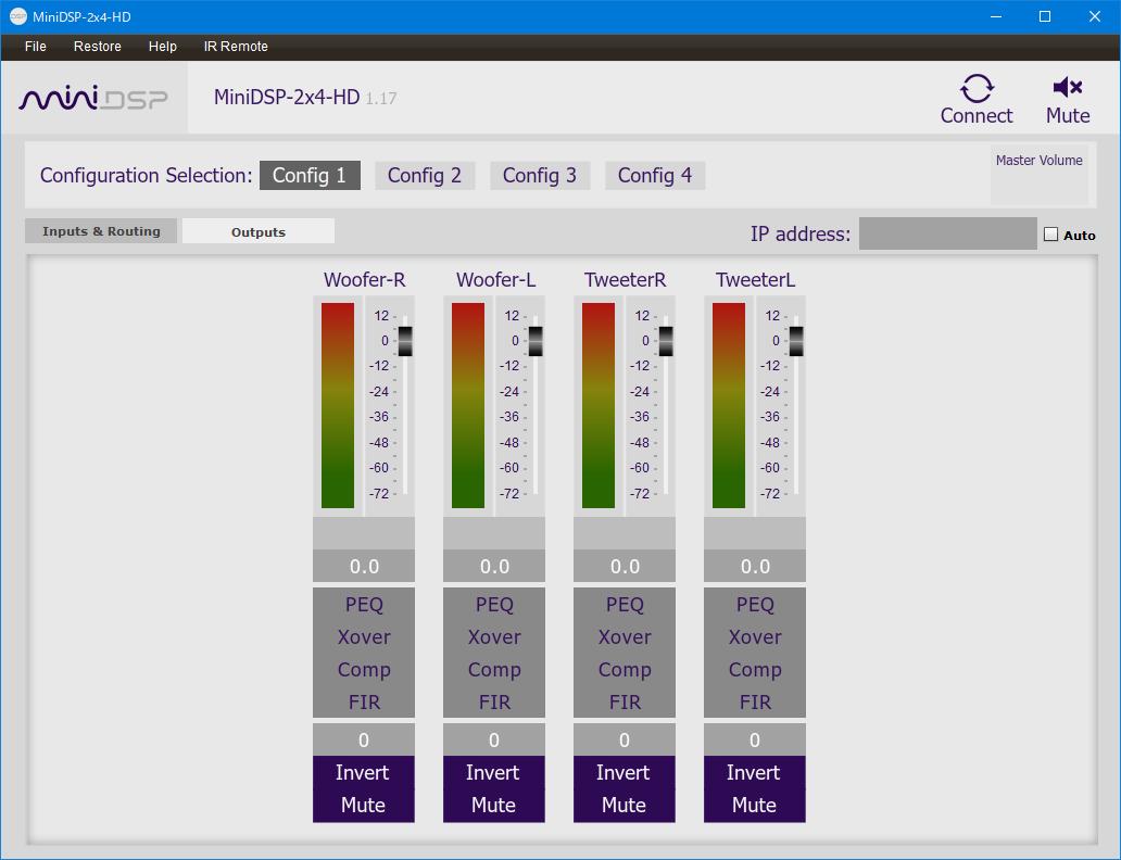 クロスオーバー発展編③<br>―miniDSPでアクティブクロスオーバー回路を実装する―
